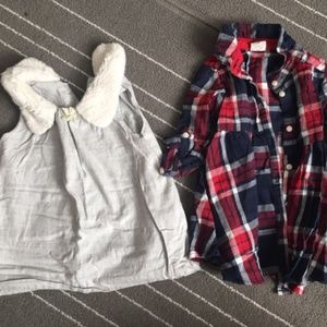 Lot of 3 baby girl dresses - 3-6mo. Adorable!